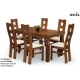 Stół Hadson 1 + 6 krzeseł Tabako