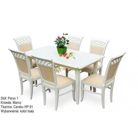 Stół Parys 1 + 6 krzeseł Marco