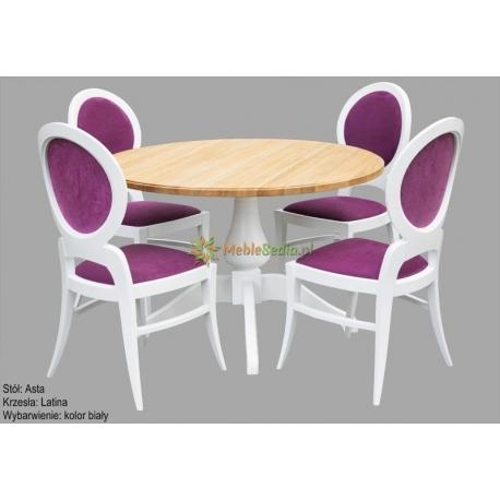 Stół Asta 1 + 4 krzesła Latina