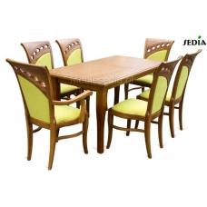 Stół Parys 1 + 6 krzeseł Wenecja