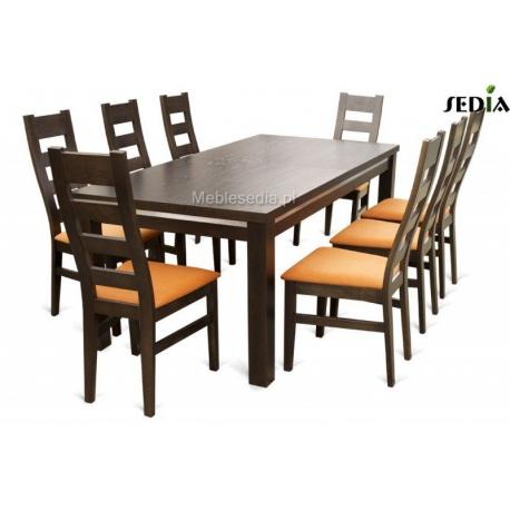Stół Aston 3 + 8 krzeseł Argo