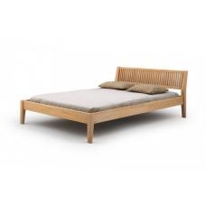 Łóżko drewniane Grafit