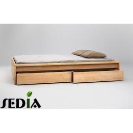 Łóżko drewniane Topaz
