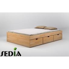 Łóżko drewniane Turkus