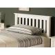 Białe łóżko Arabis