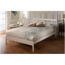 Białe łóżko Tilia