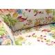Sofa w wzory kwiatowe Roza