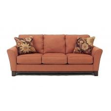 ZEFEN klasyczna rozkładana sofa 3-osobowa