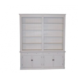 Biała biblioteczka Liv 4D