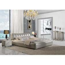 Nowoczesne łoże tapicerowane Mika