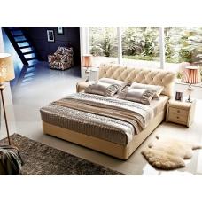 Łóżko w stylu chesterfield Gabon