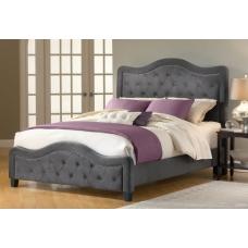 Tapicerowane łóżko w stylu angielskim Bruno