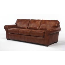Klasyczna sofa skórzana Nora