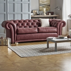 Sofa w stylu chesterfield Foster Slim