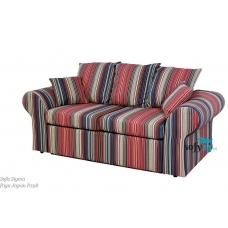 Sofa z lamówkami Nemezis