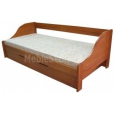Łóżko z pojemnikiem Maciek 90 sosna pachnąca