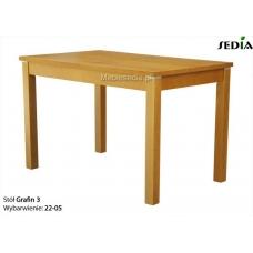 Stół rozkładany do 3 metrów Grafin
