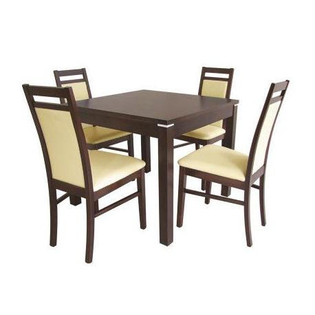 Stół Kwant 1 + 4 krzesła Magnus