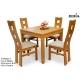 Stół Kwant 1 + 4 krzesła Tabako