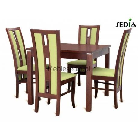 Stół Kwant 1 + 4 krzesła Riko