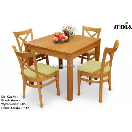 Stół Kwant 1 + 4 krzesła Grono