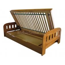 Łóżka sosnowe z pojemnikiem